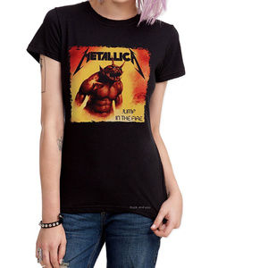 Metallica Jump in the Fire metal T-Shirt L NWT